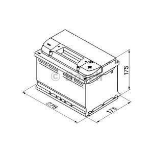 Bosch 0092S50070 - Batterie de démarrage