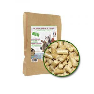 Les recettes de Daniel Litiere vegetale en granules de paille - Sac de 10Kg