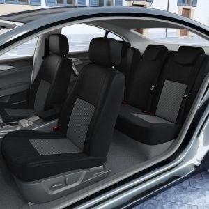 DBS 1012859 Housse de siège Auto / Voiture - Sur Mesure - Finition Haut de Gamme - Montage Rapide - Compatible Airbag - Isofix