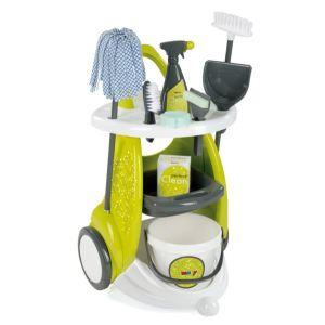 Smoby 024086 - Chariot de ménage Clean Service