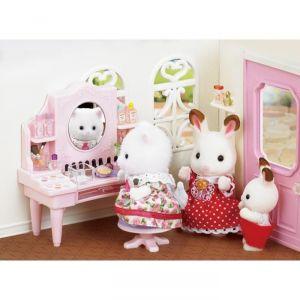 Epoch Sylvanian Families 5235 - Table de maquillage et figurine