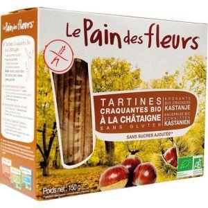 Le pain des fleurs Tartine craquante à la Châtaigne 150g