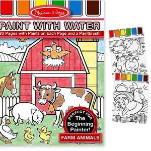 Melissa & Doug Peinture à l'eau : Animaux de ferme