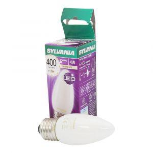 Sylvania Ampoule LED a filament Toledo RT Candle E27 4W équivalence 35W - E27 - 4W équivalent à 35W - Diffusion sur 300° - Flux lumineux : 400lm - Température de couleur : 2700K.