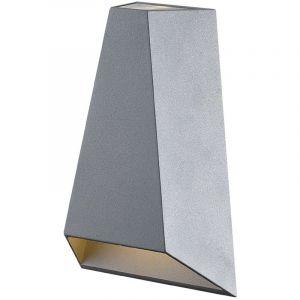 Vertak Applique d'extérieur LED forme pyramidale à double faisceau gris anthracite