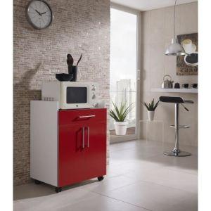 desserte cuisine rouge comparer 109 offres. Black Bedroom Furniture Sets. Home Design Ideas