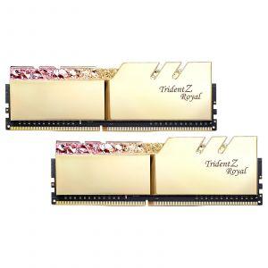 G.Skill Trident Z Royal Gold RGB 16 Go (2 x 8 Go) 4400 MHz DDR4 CL18