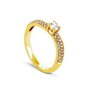 Rêve de diamants 3612030090585 - Bague en or jaune sertie de diamants