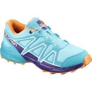 Salomon Speedcross J, Chaussures de Trail Mixte Enfant, Bleu (Blue Curacao/Acai/Bird of Paradise 000), 36 EU