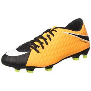 Nike Chaussures de foot Hypervenom phade h fg jaune - Taille 43,42 1/2