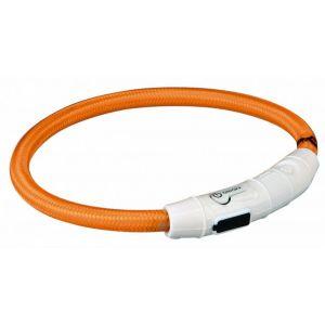 Trixie Flash anneau lumineux usb - XS-S: 35 cm/ø 7 mm, orange