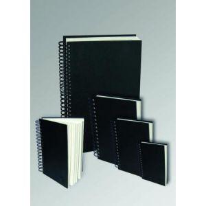 Clairefontaine 34252C - Carnet spiralé Goldline de 64 feuilles de papier à dessin blanc, 140 g/m², A3