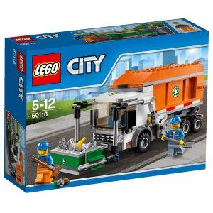 Lego 60118 - City : Le camion poubelle