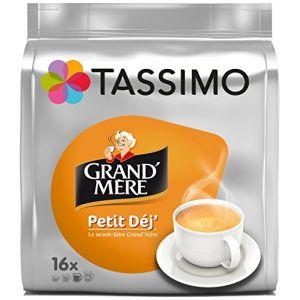 Tassimo 5 paquets de 16 T-Discs Grand'Mère Petit Déj