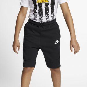 Nike Short Sportswear Tech Fleece pour Garçon plus âgé - Noir - Couleur Noir - Taille XS