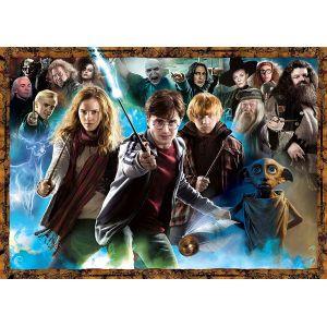 Ravensburger 15171 - Puzzle Harry Potter et Les sorciers 1000 pièces - Puzzle Adulte
