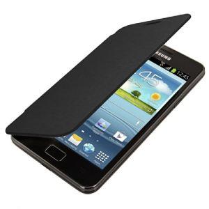Kwmobile 15190 - Etui de protection à rabat pratique et chic pour Samsung Galaxy S2 i9100