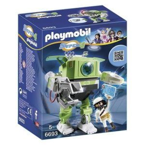 Playmobil 6693 Super4 - Robot Cleano