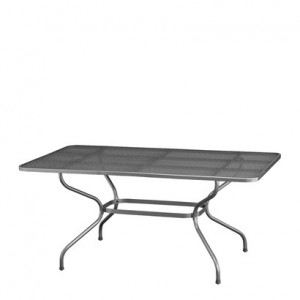 Kettler 0303721-7000 - Table de jardin Castello 160 x 90 x 74 cm