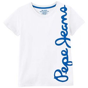 Pepe Jeans WALDO SHORT T-shirt Garçon Blanc