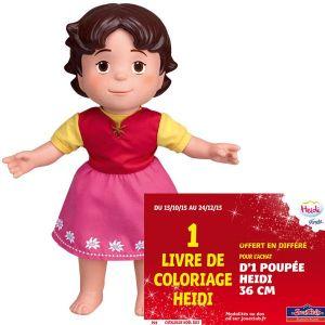 Famosa Poupée Heidi 36 cm