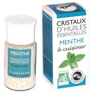 Aromandise Cristaux d'Huiles Essentielles Bio Menthe 20g