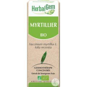 Image de Herbalgem Myrtillier Macérât-Mère Concentré Bio 50ml