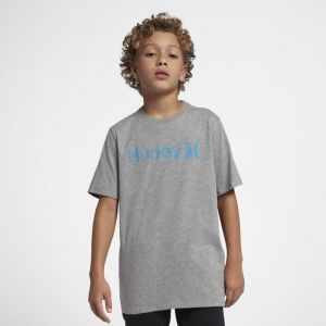 Nike Tee-shirt Hurley One And Only Push Through pour Garçon - Gris - Taille S - Male