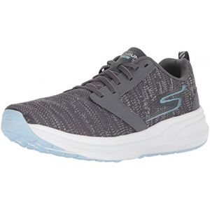 Image de Skechers Performance Go Run Ride 7, Chaussures de Fitness Femme, Gris (Charcoal/Blue), 39 EU