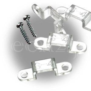 Gev Kit de fixation pour cordon lumineux Mini-Flex