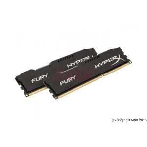 Kingston MÉMOIRE HyperX Fury Blk DIMM DDR3 1866MHz 8Go (kit)