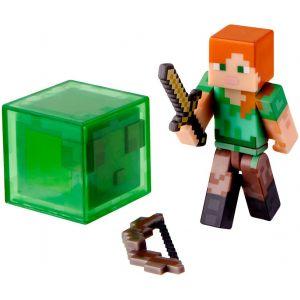 Jazwares Minecraft Alex - Figurine avec accessoires