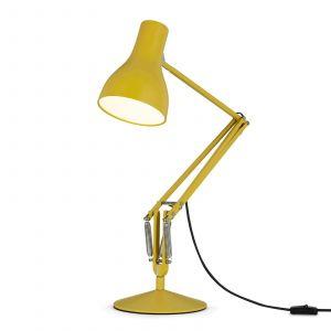 Anglepoise Lampe de table Type 75 / By Margaret Howell - Edition limitée jaune ocre en métal