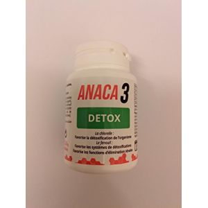 Anaca 3 Détox détoxification de l´organisme 60 gélules