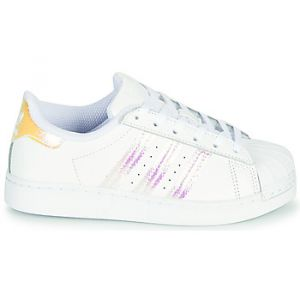 Adidas Baskets basses enfant SUPERSTAR C Blanc - Taille 28,29,30,31,32,33,34,35,33 1/2,31 1/2,30 1/2,28 1/2