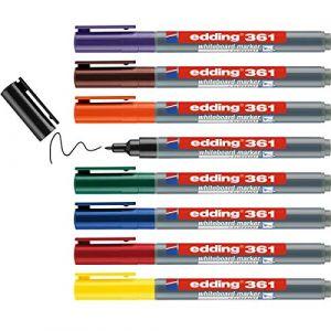 Edding Marqueurs à tableau blanc 8 pcs Multicolore 361