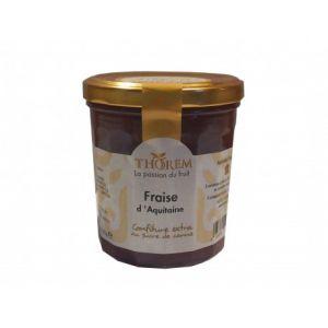 Thorem Confiture Fraise d'Aquitaine 375 g - Lot de 2