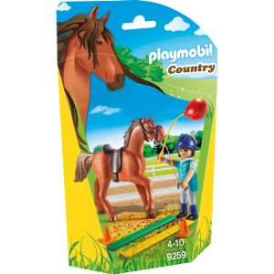 Playmobil 9259 Country - Écuyère avec cheval