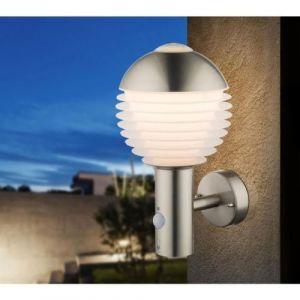 Globo Lighting 34286S Applique extérieure inox - Plastique opal