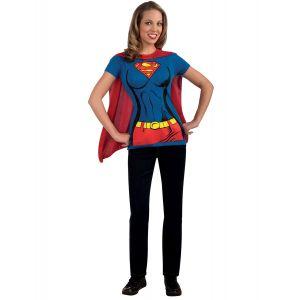 Descriptif Déguisement Supergirl adulte Tee Shirt Taille L