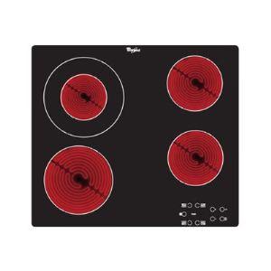 Whirlpool AKT 8130/NE - Table de cuisson vitrocéramique 4 foyers