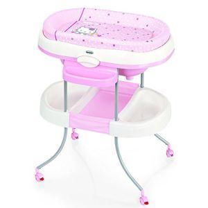 Brevi acqua light table langer avec baignoire - Table a langer en bois avec baignoire ...