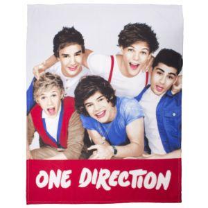 Character World Couverture polaire One Direction Photo de Groupe Craze