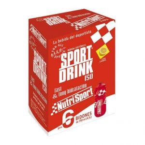 Nutrisport Isotonique Sportdrink Powder 6 Units With Bottle