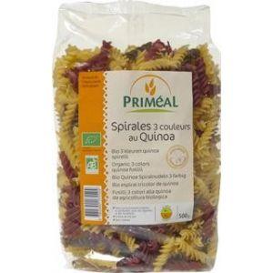Priméal Spirales 3 Couleurs au Quinoa 500g