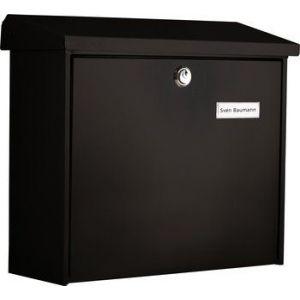 Burg-Wächter La boîte aux lettres avec le confort en plus, couleur noir - Comfort 913 S