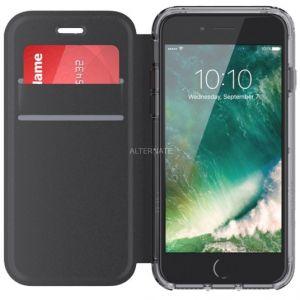 Griffin GB42812 - Coque Survivor Clear avec protection à rabat pour iPhone