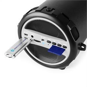 OneConcept Dr. Beat - Enceinte 2.1 Bluetooth USB SD AUX