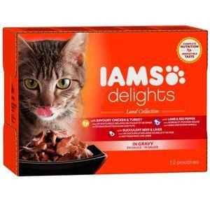 IAMS Delights Adult en sauce 12 x 85 g
