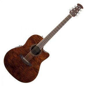 Ovation Guitars Celebrity Standard Plus CS24PNBM Nutmeg Burled Maple